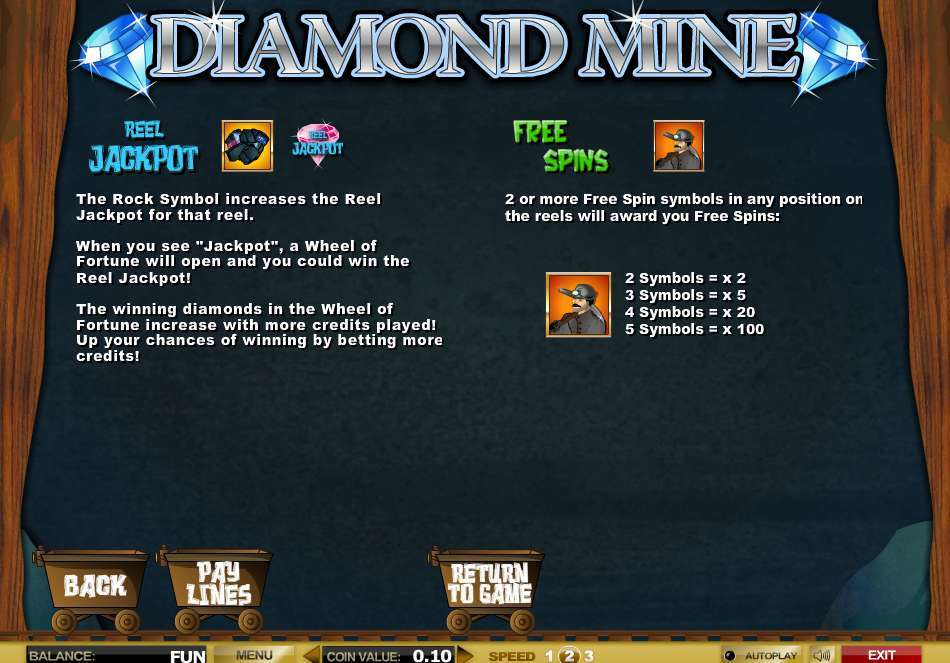 Game Review Diamond Mine