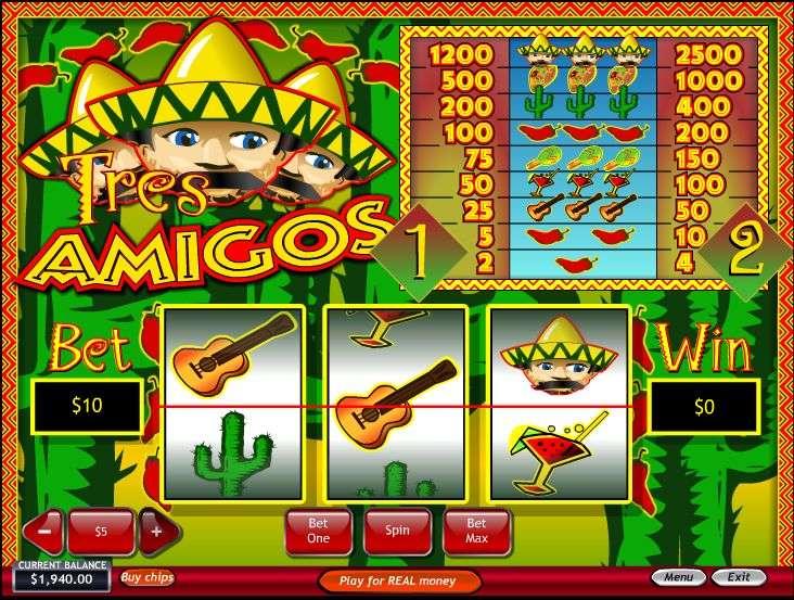 Game Review Tres Amigos Slot