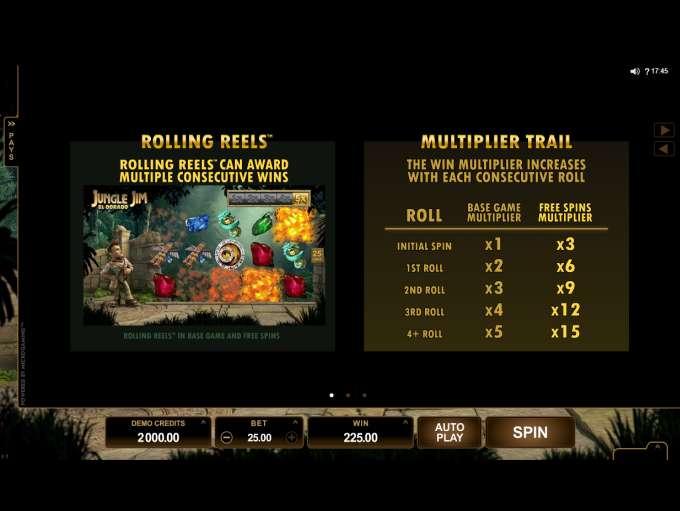 Game Review Jungle Jim - El Dorado