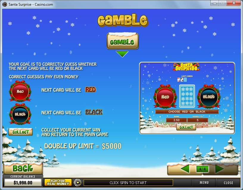 Game Review Santa Surprise