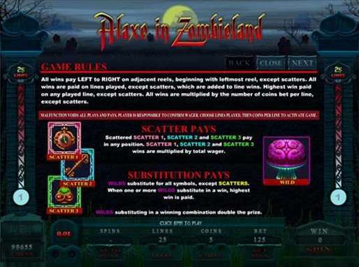 Game Review Alaxe in Zombieland