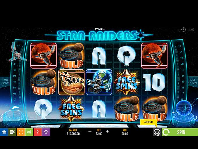 Game Review Star Raiders