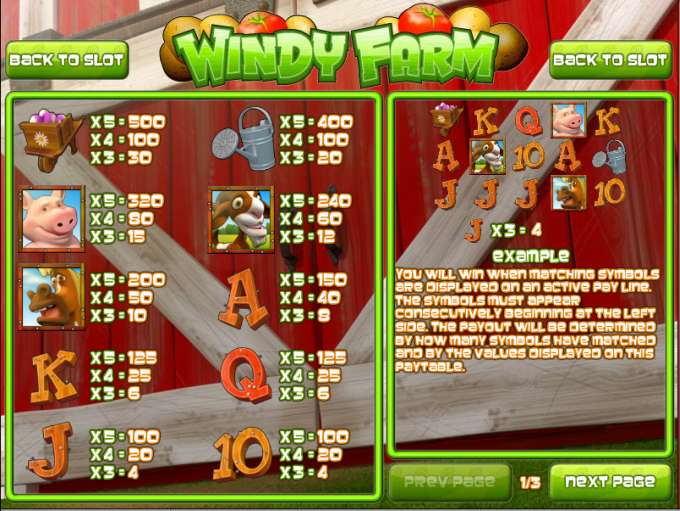 Game Review Windy Farm