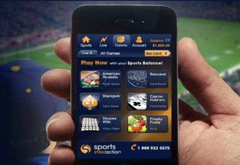 Main sports interaction mobile casino