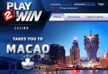 Main play2win casino