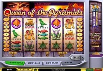 12647 lcb 129k yu  queen of the pyramids slot