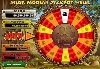 22685 lcb 137k tz 4 mega moolah jackpot wheel