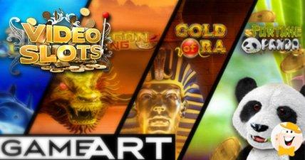 Videoslots.com welcomes gameart software