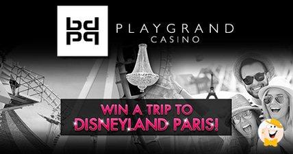 Spin a trip to disneyland paris with playgrand casino