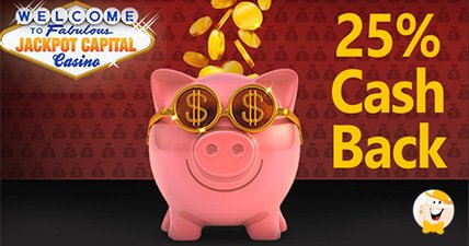 25 cashback and air jackpot bonuses from jackpot capital