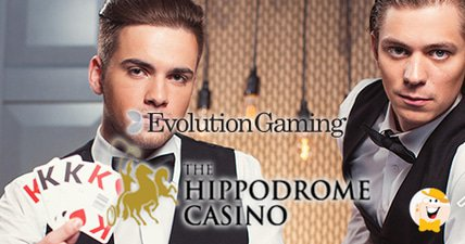 Evolution gaming partners with hippodrome casino