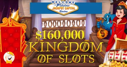 160k in jackpot capital casino bonuses could be yours in september