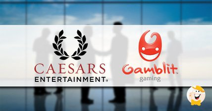 Caesars entertainment partners with gamblit gaming