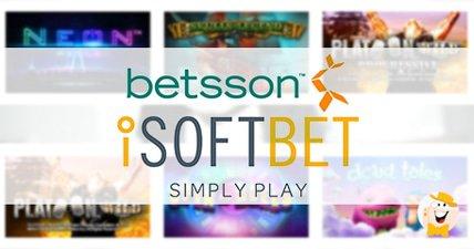 Betsson launches isoftbet content
