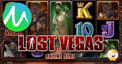 Countdown to infection with microgamings lost vegas slot