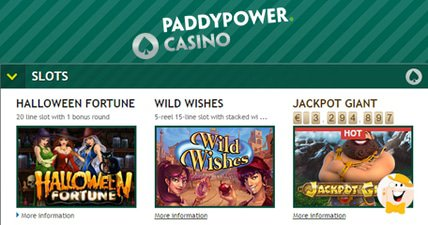 Inspired supplies paddy power with latest batch of slots