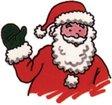 Find santa claus 10