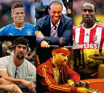 Athletes that Gamble