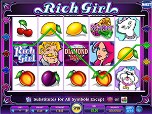 Shes a Rich Girl Classic Slot