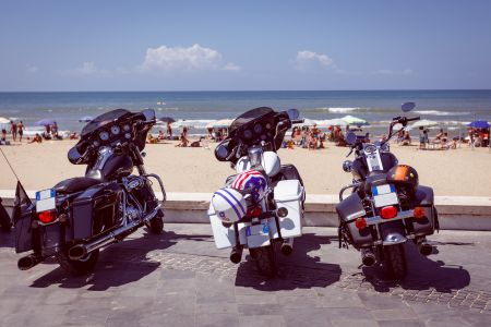 MotorcycleharleyBeach