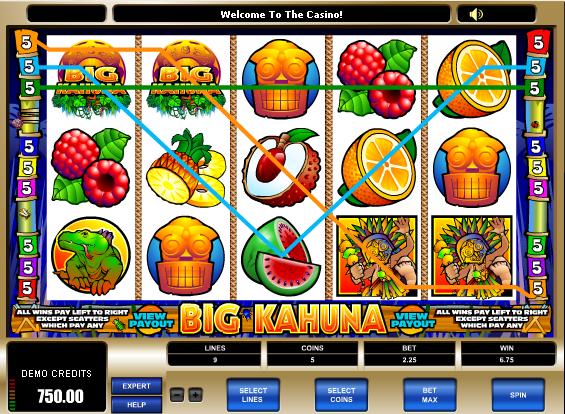 Online SlotMachines Big_Kahuna