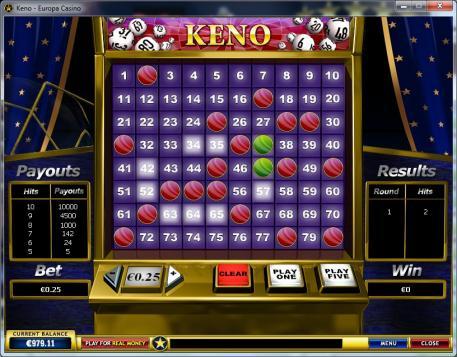online -keno-europa